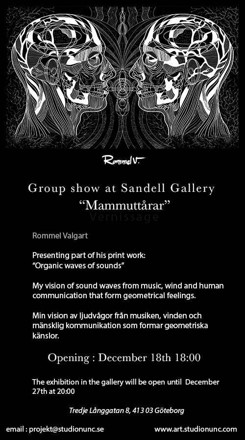 Vernissage flyer-Rommel Valgart